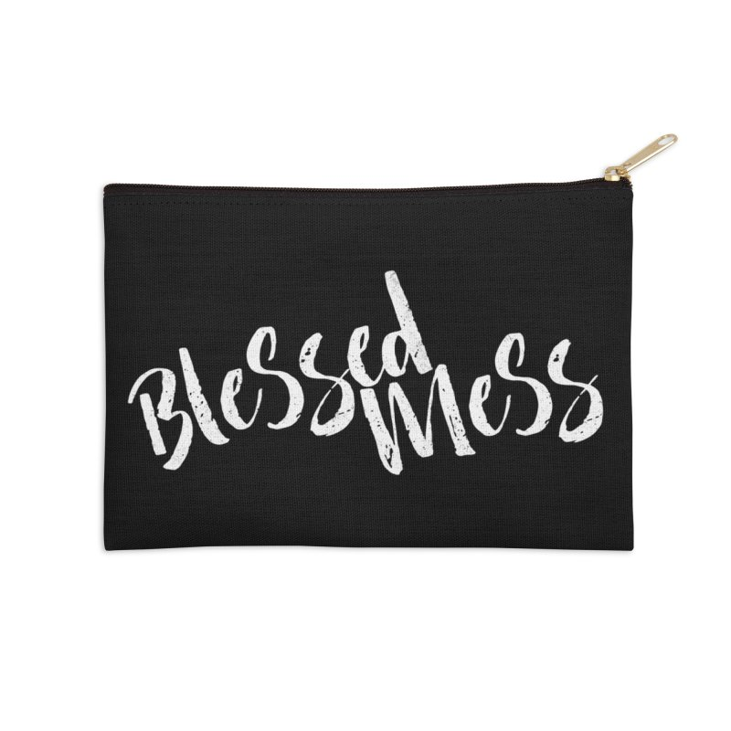 Blessed Mess  Accessories Zip Pouch by Kingdomatheart's Artist Shop