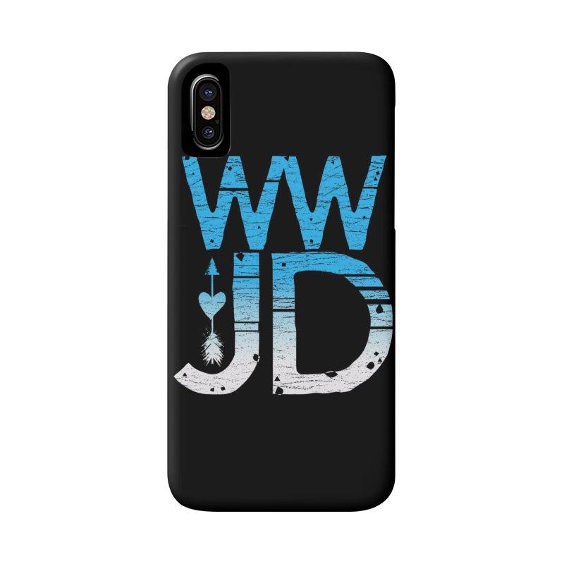 WWJD Accessories Phone Case by Kingdomatheart's Artist Shop