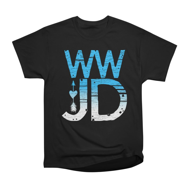 WWJD  Women's Classic Unisex T-Shirt by Kingdomatheart's Artist Shop