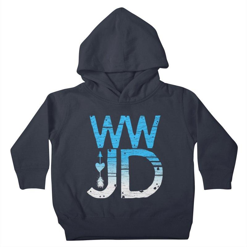 WWJD  Kids Toddler Pullover Hoody by Kingdomatheart's Artist Shop