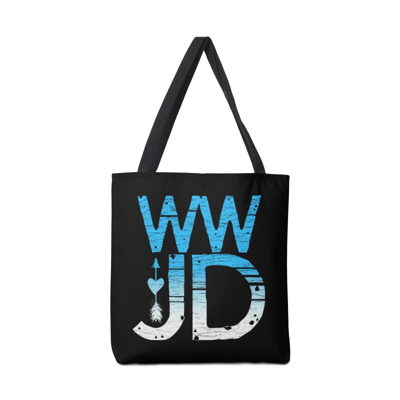 WWJD  Accessories Bag by Kingdomatheart's Artist Shop