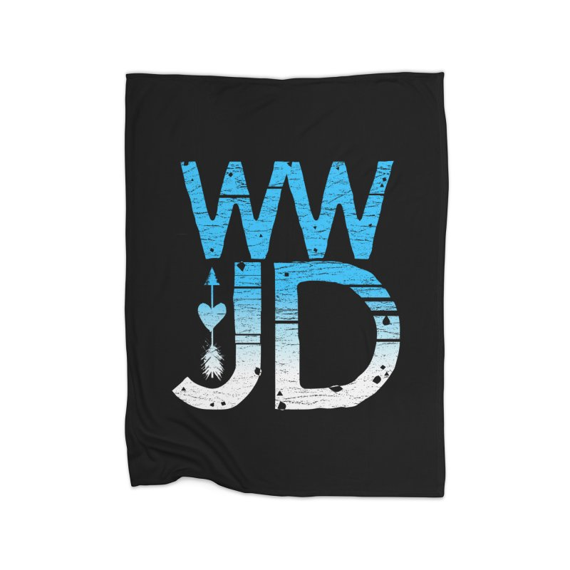 WWJD Home Blanket by Kingdomatheart's Artist Shop