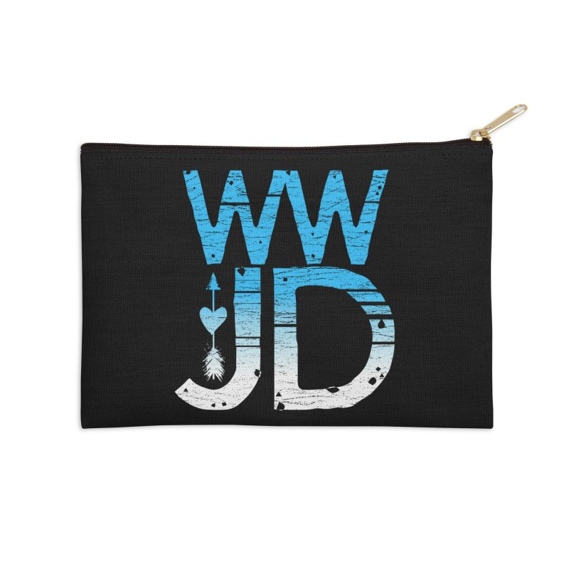 WWJD  Accessories Zip Pouch by Kingdomatheart's Artist Shop
