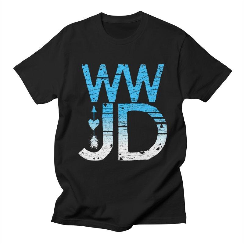 WWJD Men's T-Shirt by Kingdomatheart's Artist Shop