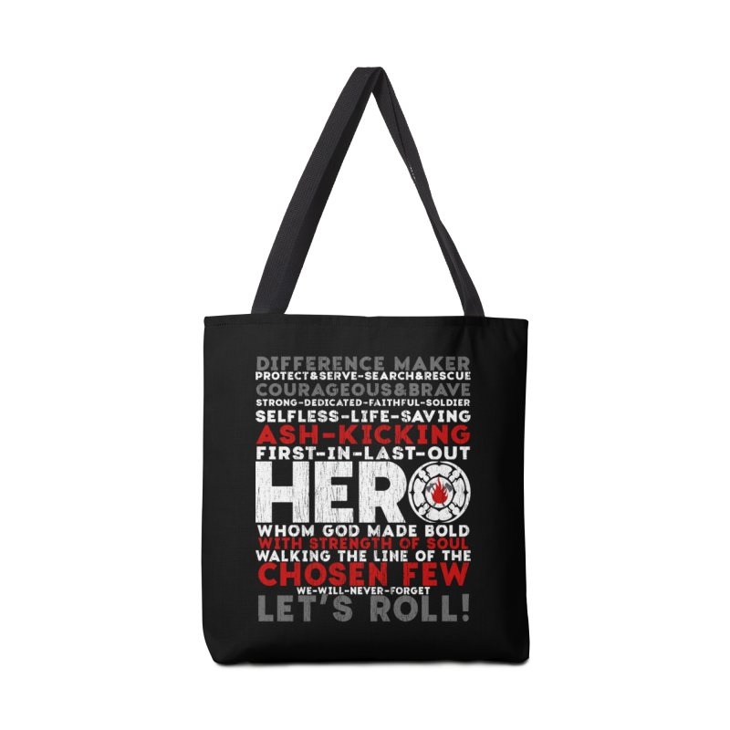 Hero  Accessories Bag by Kingdomatheart's Artist Shop