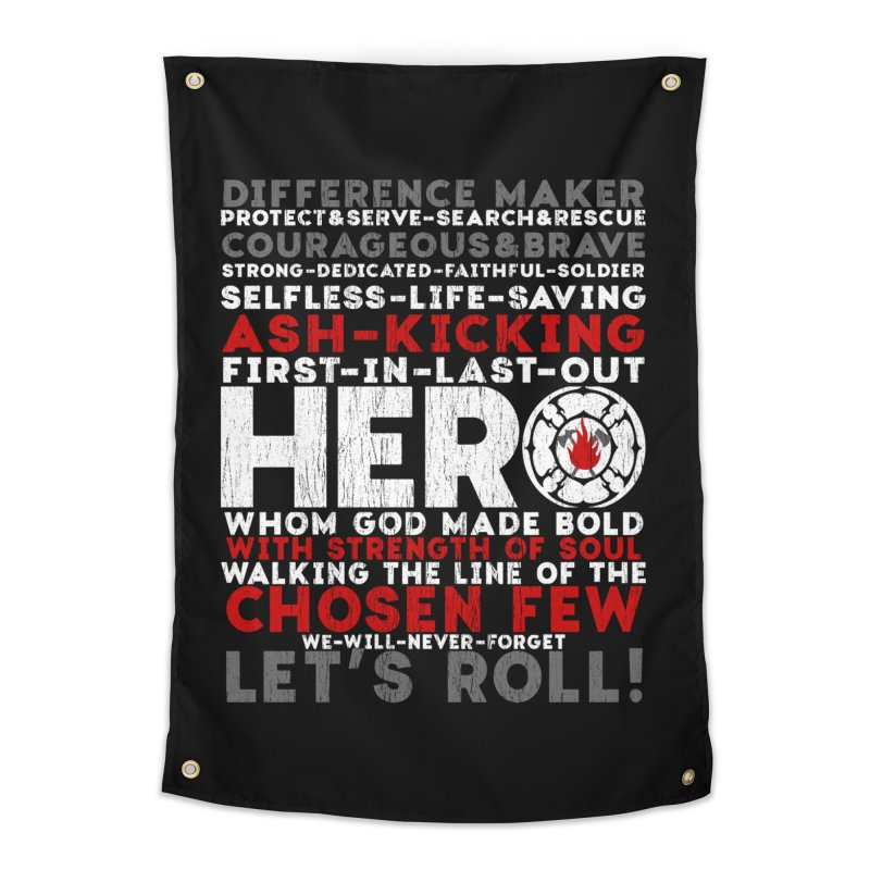 Hero  Home Tapestry by Kingdomatheart's Artist Shop
