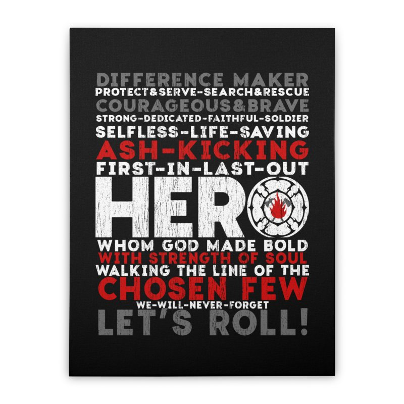 Hero  Home Stretched Canvas by Kingdomatheart's Artist Shop