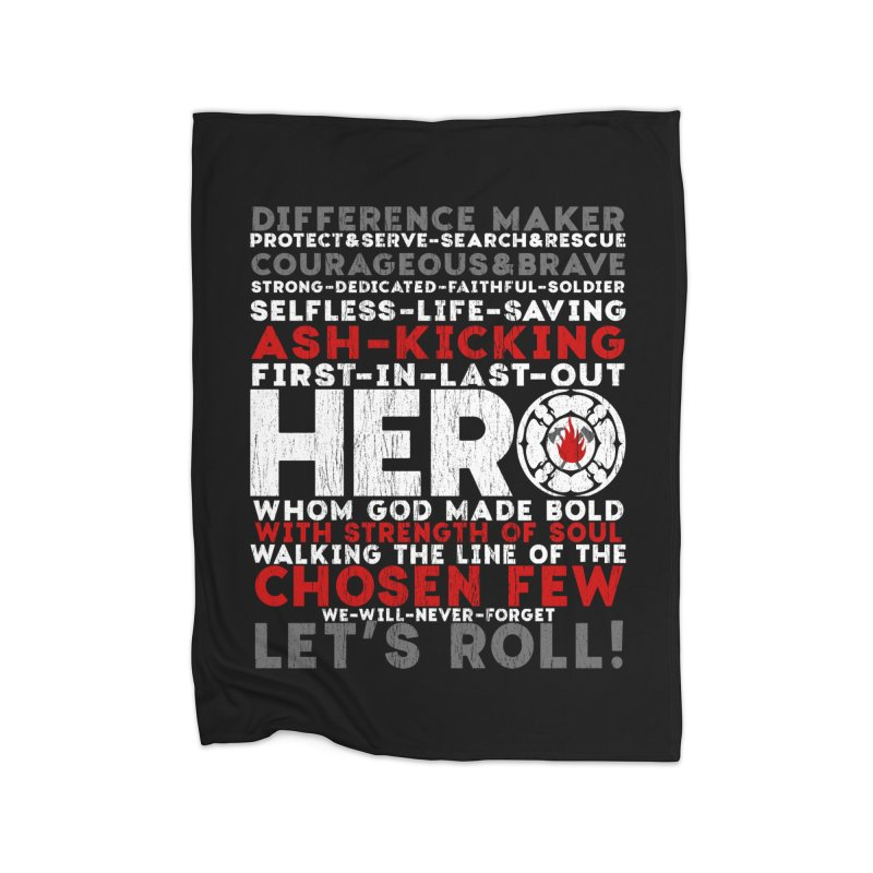 Hero Home Blanket by Kingdomatheart's Artist Shop