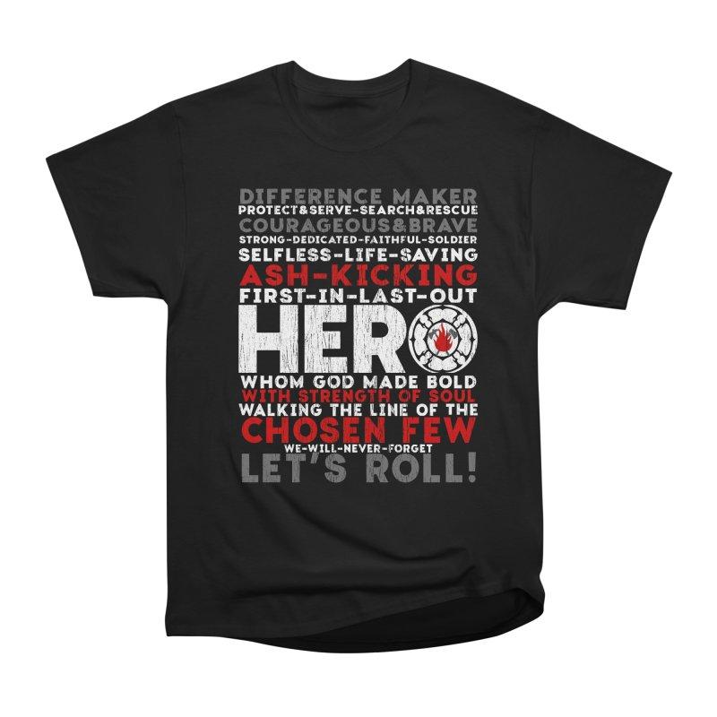 Hero Men's Classic T-Shirt by Kingdomatheart's Artist Shop