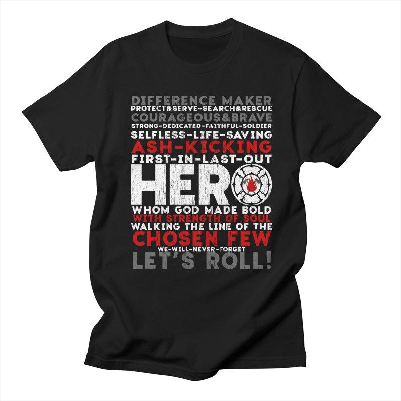 Hero Men's T-Shirt by Kingdomatheart's Artist Shop