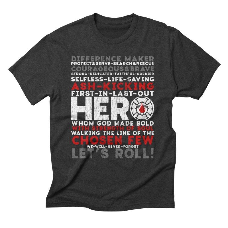Hero Men's Triblend T-Shirt by Kingdomatheart's Artist Shop