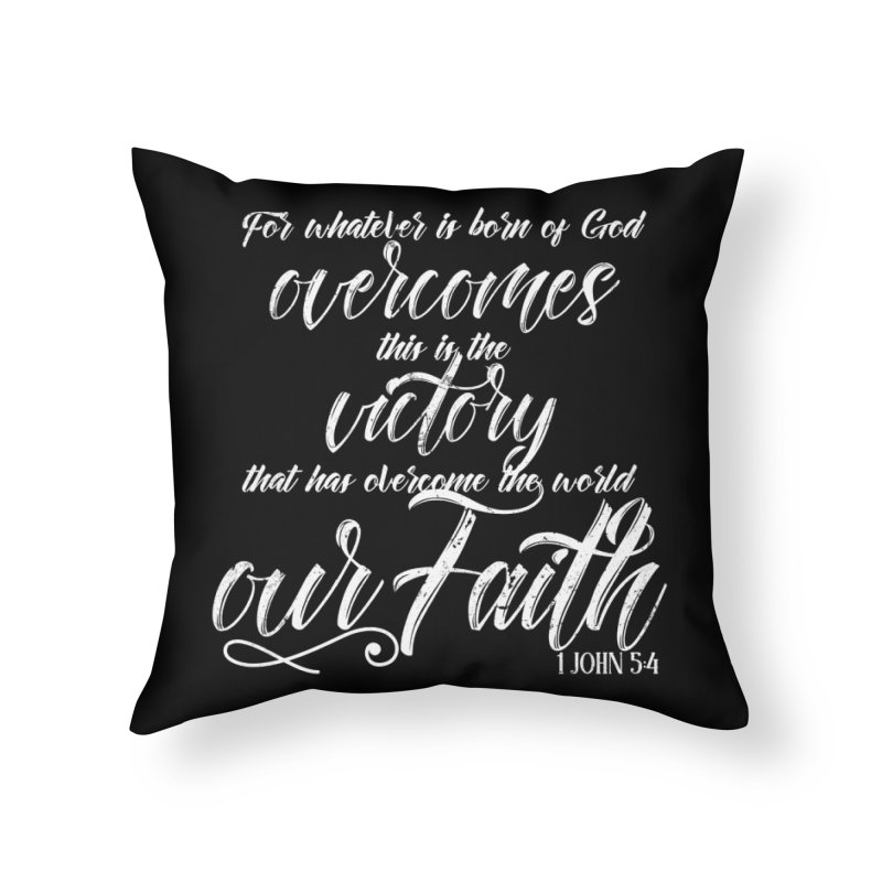 Victory  Home Throw Pillow by Kingdomatheart's Artist Shop