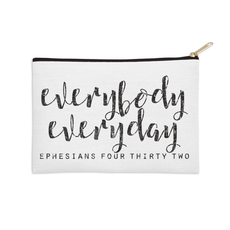 Everybody Everyday Accessories Zip Pouch by Kingdomatheart's Artist Shop