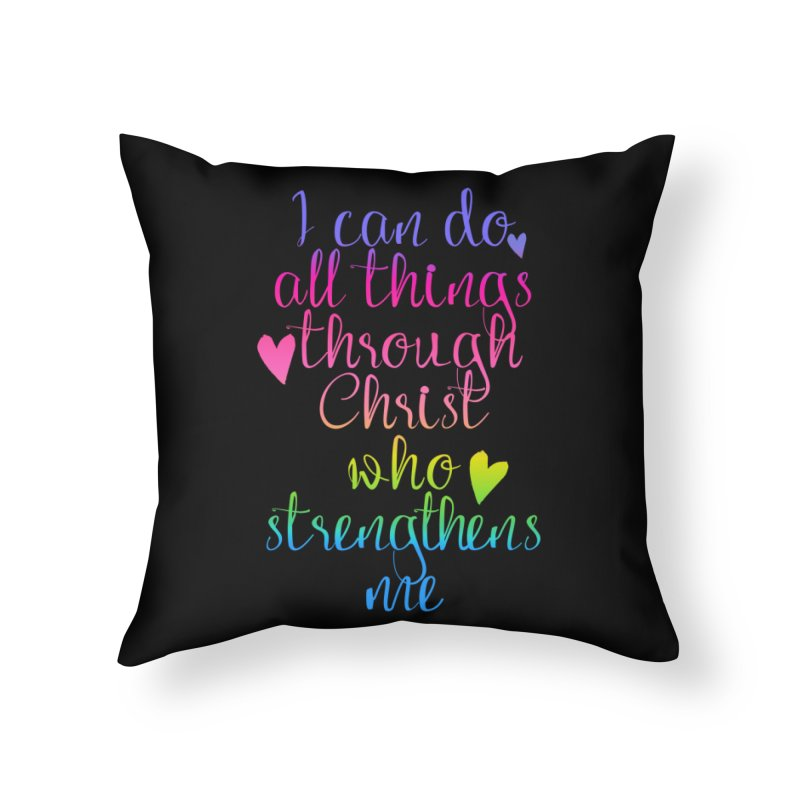 All Things  Home Throw Pillow by Kingdomatheart's Artist Shop