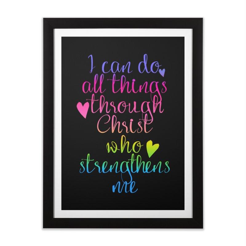 All Things  Home Framed Fine Art Print by Kingdomatheart's Artist Shop