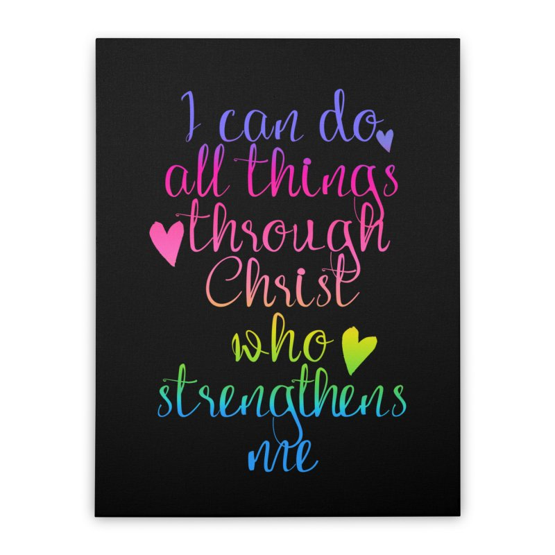 All Things  Home Stretched Canvas by Kingdomatheart's Artist Shop
