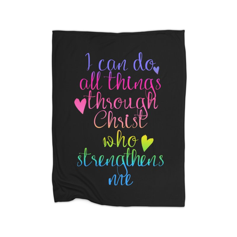 All Things  Home Blanket by Kingdomatheart's Artist Shop