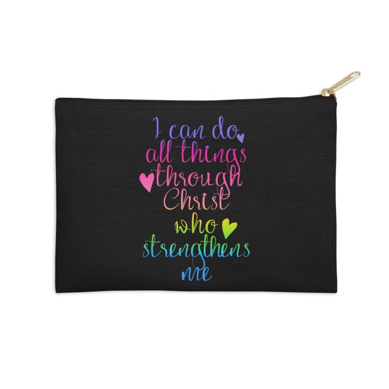 All Things  Accessories Zip Pouch by Kingdomatheart's Artist Shop