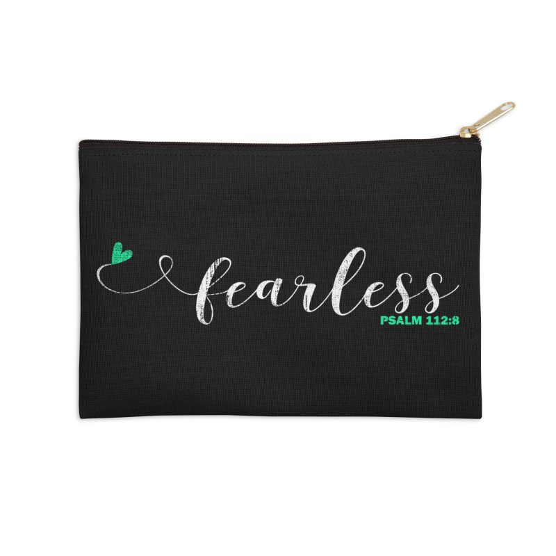 Fearless  Accessories Zip Pouch by Kingdomatheart's Artist Shop