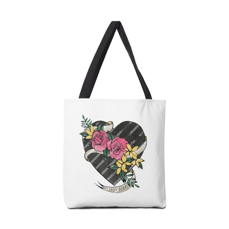 Steady Heart Accessories Bag by Kingdomatheart's Artist Shop