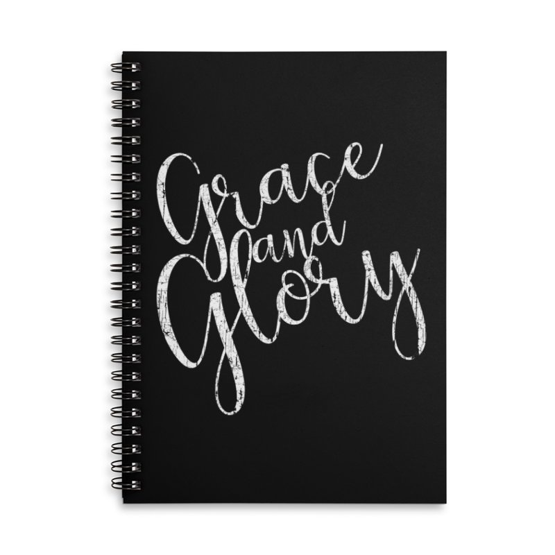 Grace and Glory Accessories Notebook by Kingdomatheart's Artist Shop
