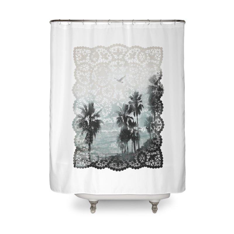 Laguna Beach Lace Home Shower Curtain by Kingdomatheart's Artist Shop