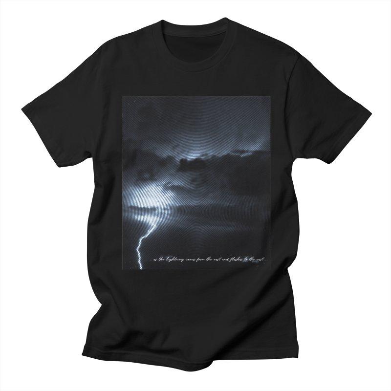 Lightning Flashes Men's T-shirt by Kingdomatheart's Artist Shop