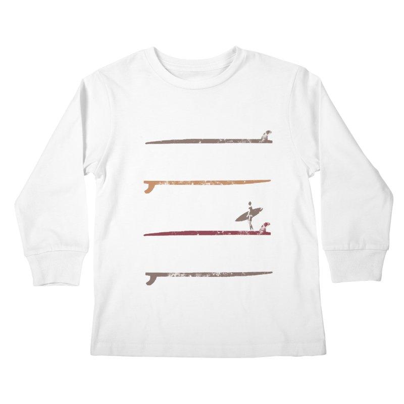 Soul Surfer Kids Longsleeve T-Shirt by Kingdomatheart's Artist Shop