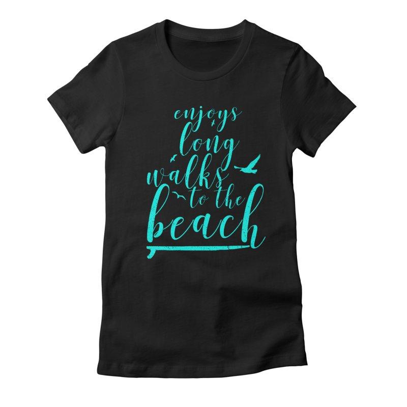 Enjoy Women's Fitted T-Shirt by Kingdomatheart's Artist Shop