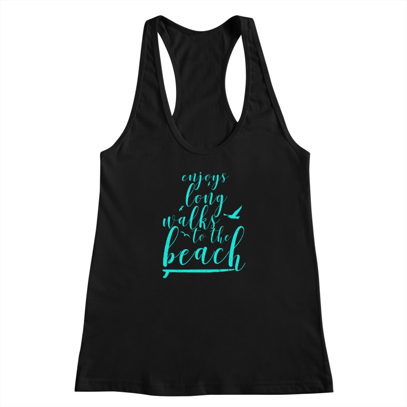 Enjoy Women's Racerback Tank by Kingdomatheart's Artist Shop