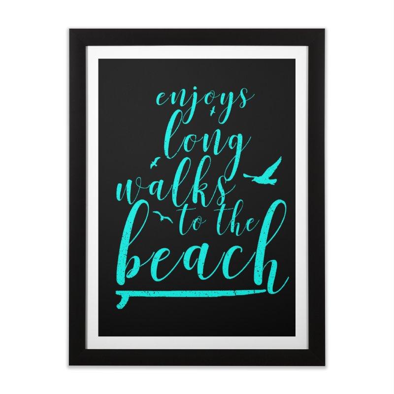 Enjoy Home Framed Fine Art Print by Kingdomatheart's Artist Shop