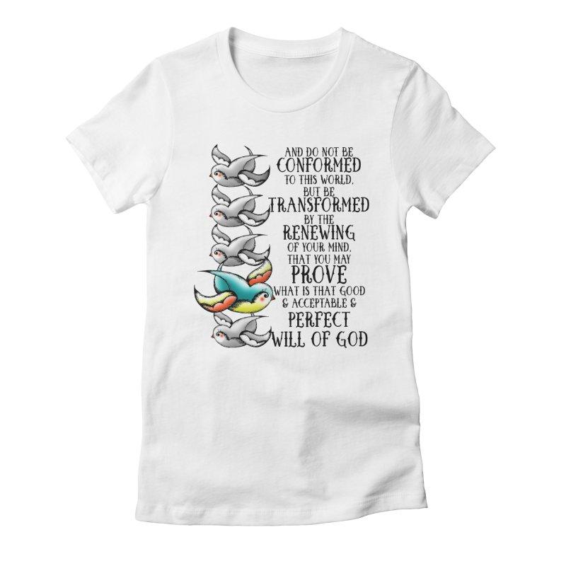 Transform Women's Fitted T-Shirt by Kingdomatheart's Artist Shop