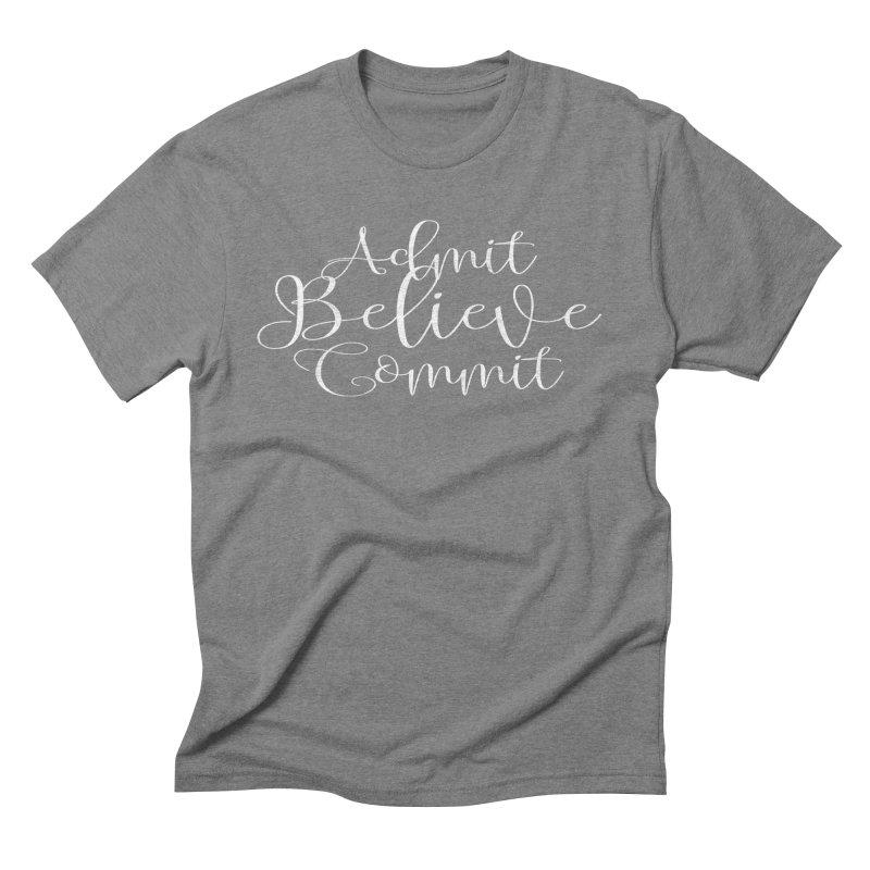 ABC's Men's Triblend T-Shirt by Kingdomatheart's Artist Shop