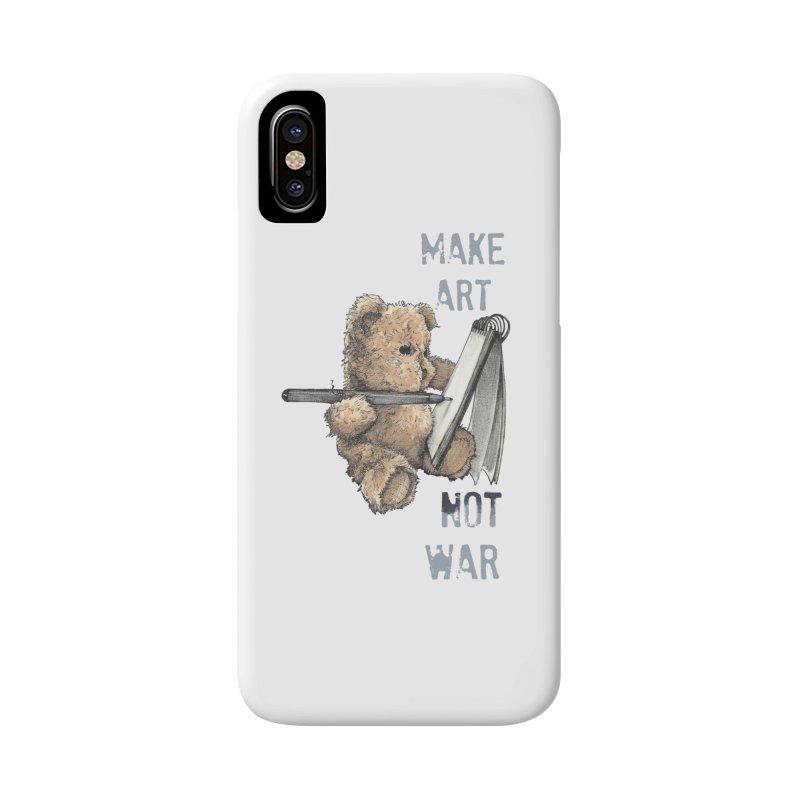 Make Art not War Accessories Phone Case by Kingdomatheart's Artist Shop