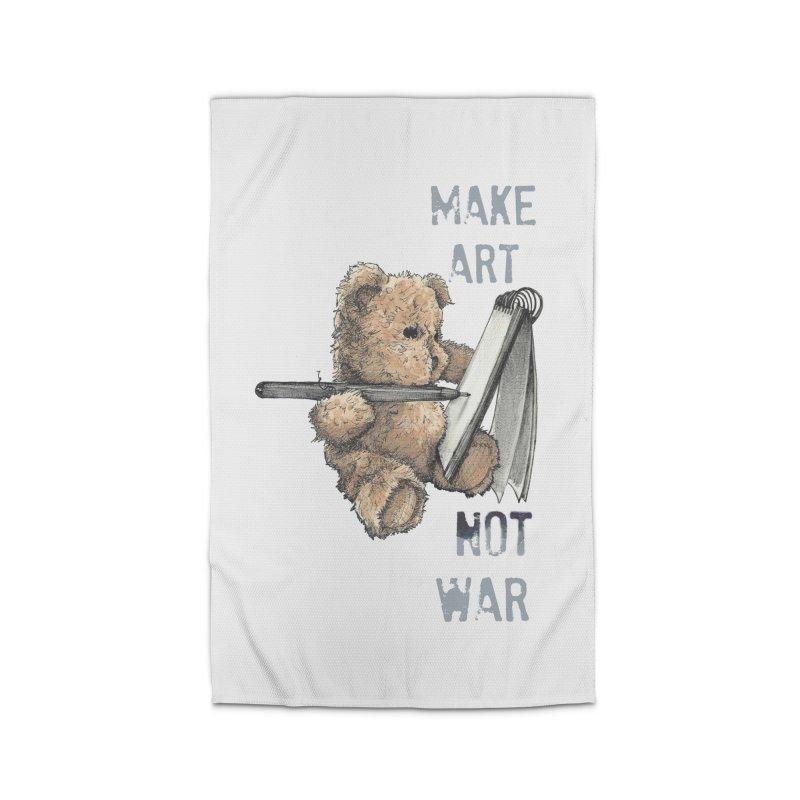Make Art not War Home Rug by Kingdomatheart's Artist Shop
