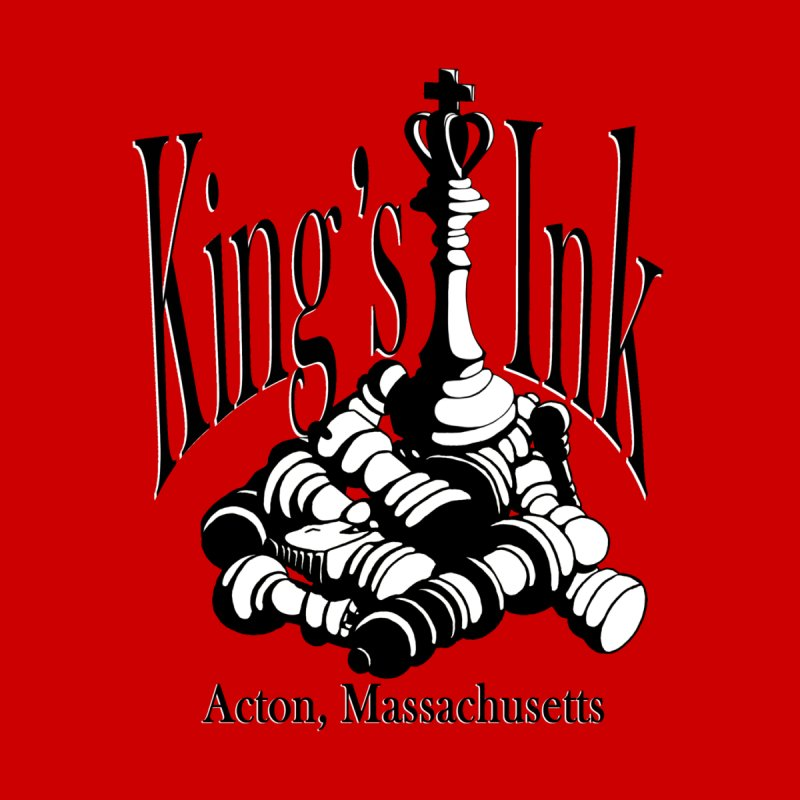 King's Ink Chess Piece by Kings Ink's Artist Shop