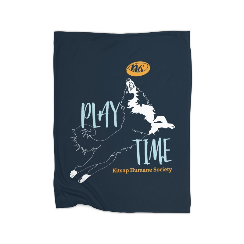 Play Time Home Blanket by Kitsaphumanesociety's Artist Shop