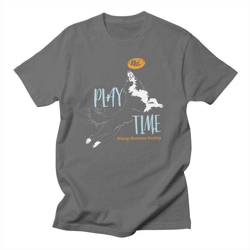 Play Time Men's T-Shirt by Kitsap Humane Society's Artist Shop