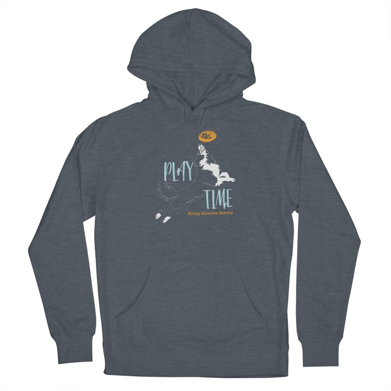 Play Time Women's Pullover Hoody by Kitsap Humane Society's Artist Shop