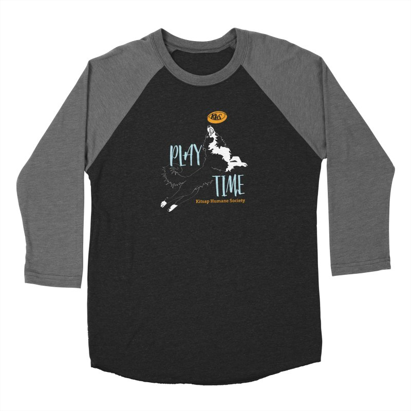 Play Time Men's Longsleeve T-Shirt by Kitsap Humane Society's Artist Shop