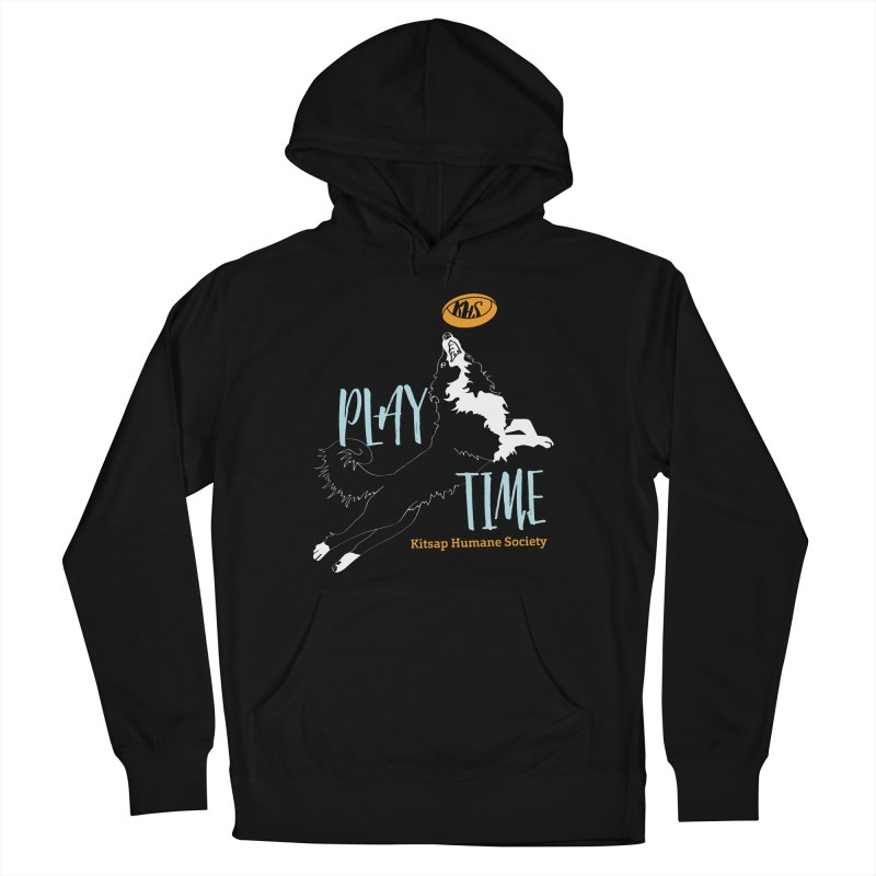 Play Time Men's French Terry Pullover Hoody by Kitsaphumanesociety's Artist Shop