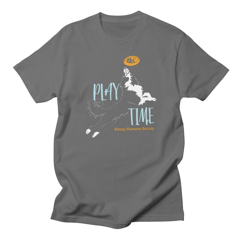 Play Time Women's Regular Unisex T-Shirt by Kitsap Humane Society's Artist Shop