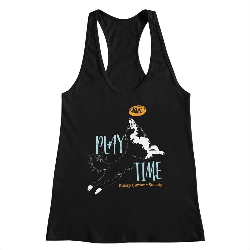Play Time Women's Tank by Kitsap Humane Society's Artist Shop