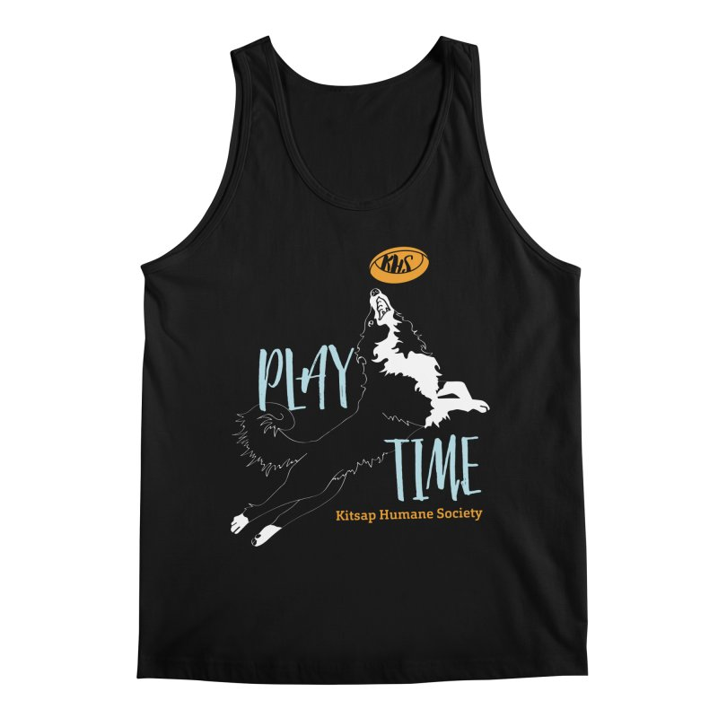 Play Time Men's Regular Tank by Kitsap Humane Society's Artist Shop