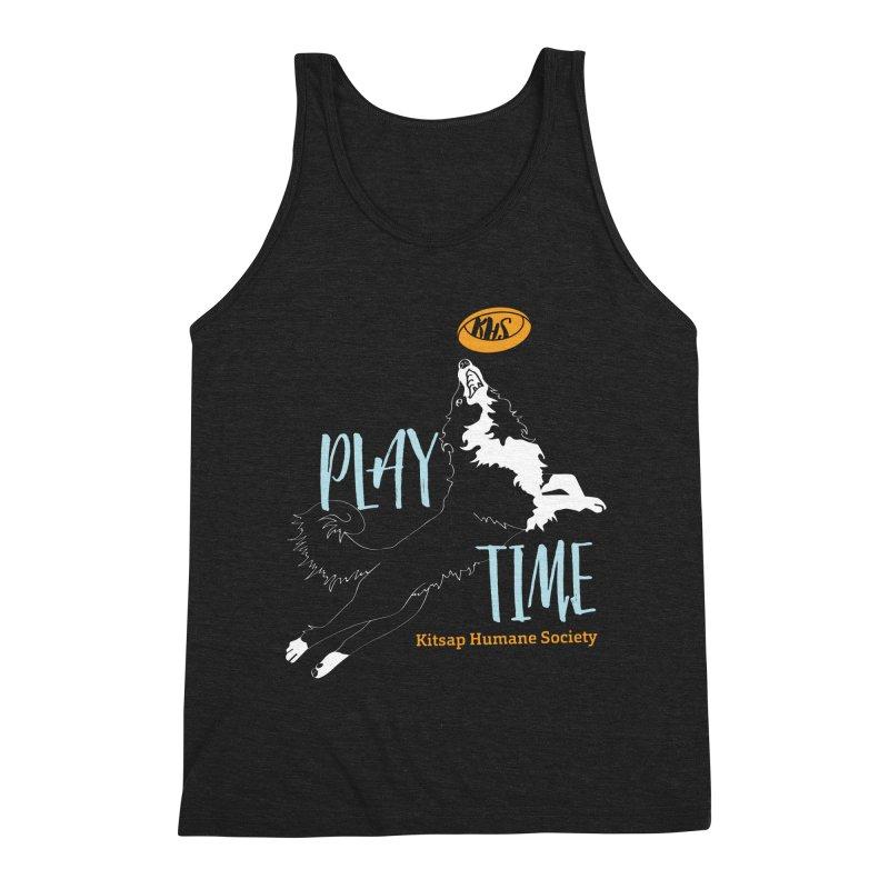 Play Time Men's Tank by Kitsap Humane Society's Artist Shop