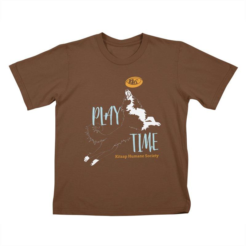 Play Time Kids T-Shirt by Kitsaphumanesociety's Artist Shop