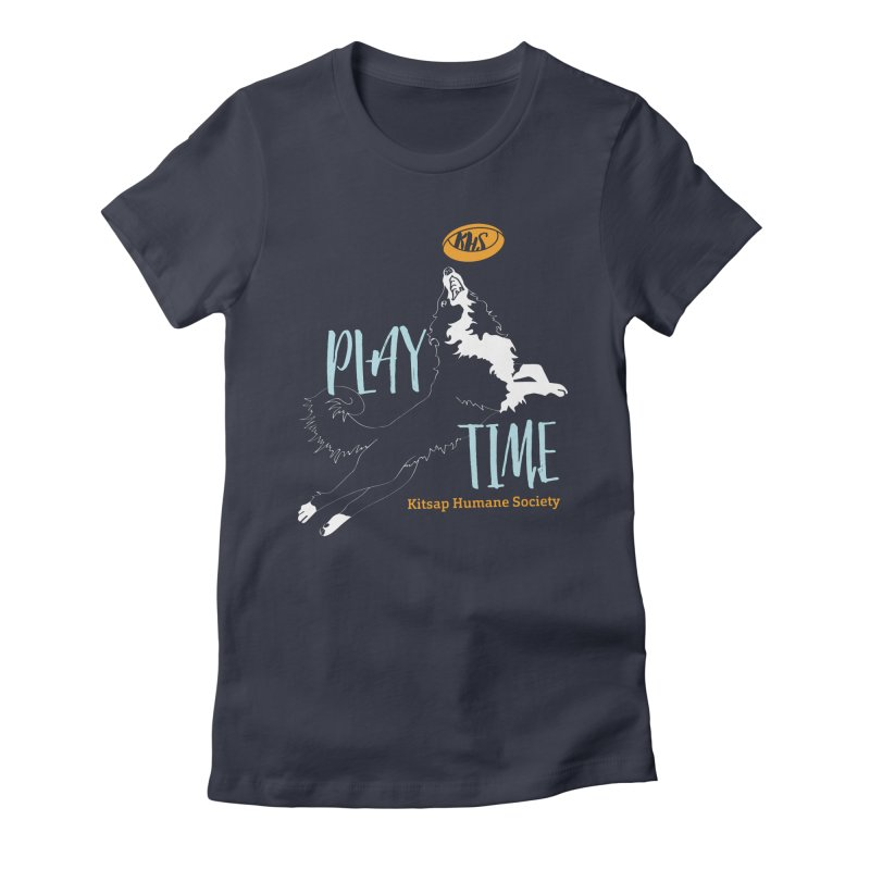 Play Time Women's Fitted T-Shirt by Kitsaphumanesociety's Artist Shop