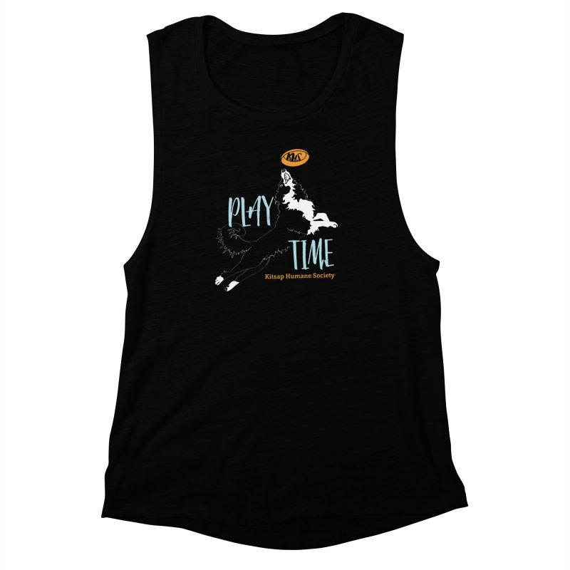 Play Time Women's Muscle Tank by Kitsaphumanesociety's Artist Shop