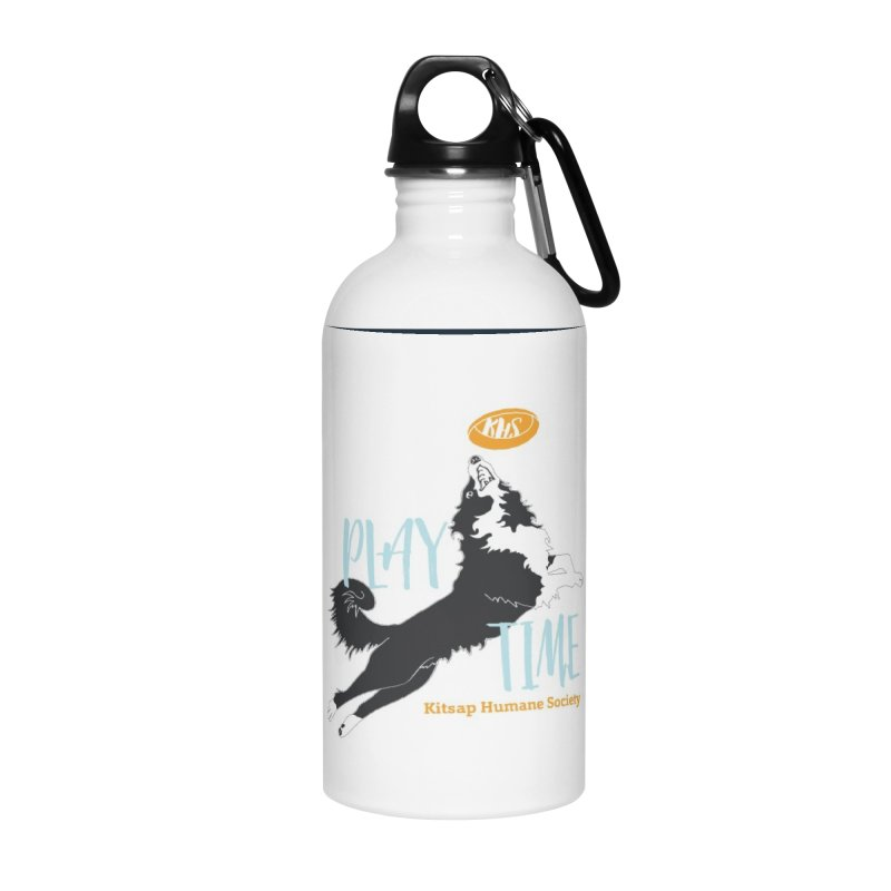 Play Time Accessories Water Bottle by Kitsap Humane Society's Artist Shop