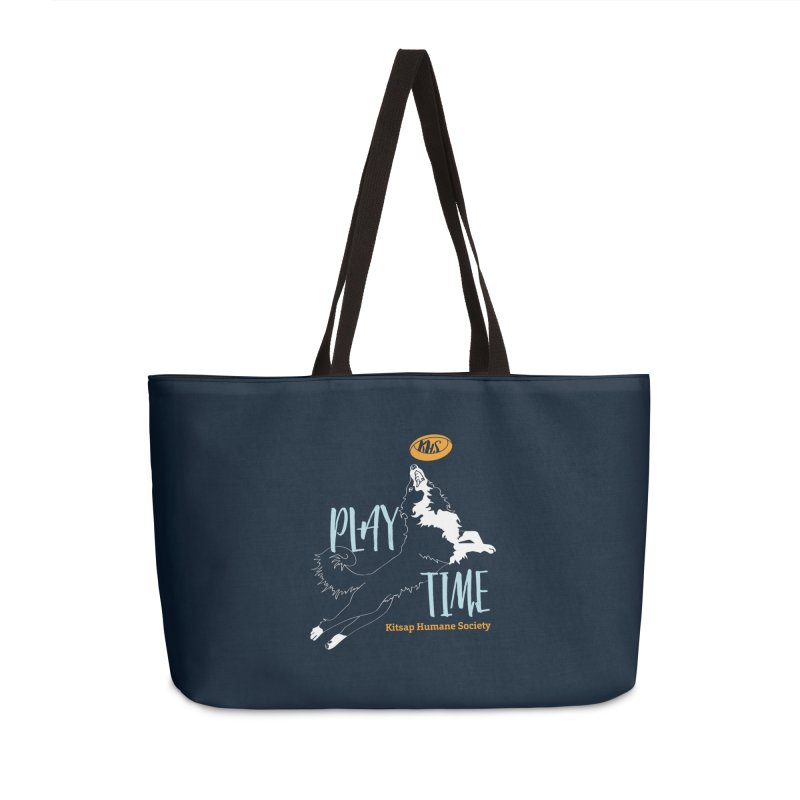 Play Time Accessories Weekender Bag Bag by Kitsap Humane Society's Artist Shop